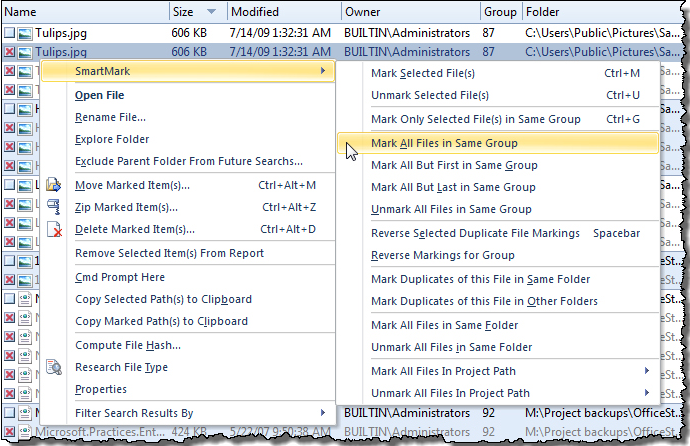 Duplicate File Detective 6.0 Screenshot