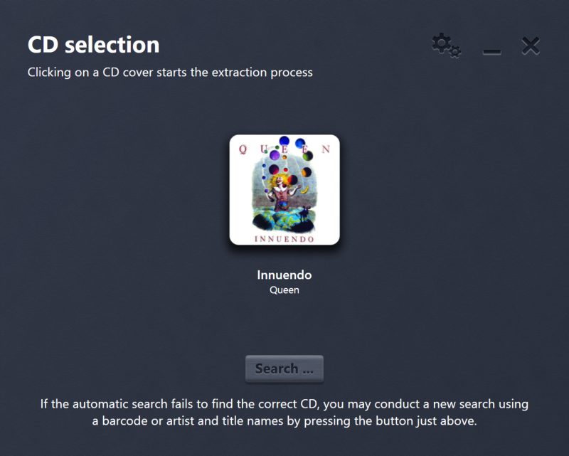 Easy Audio Copy, Audio Software Screenshot