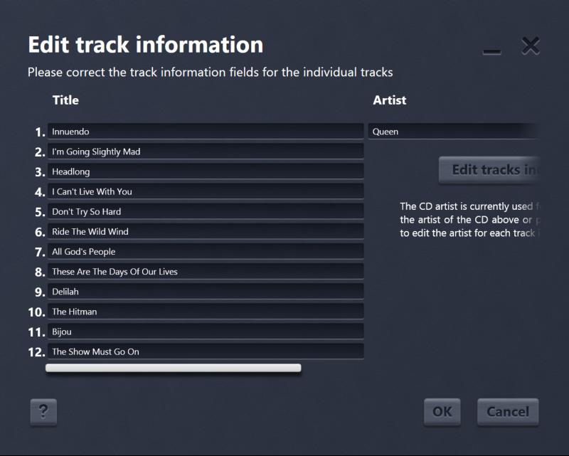 Audio Software, Easy Audio Copy Screenshot