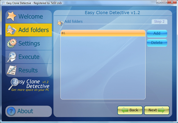 Duplicate Files Software Screenshot