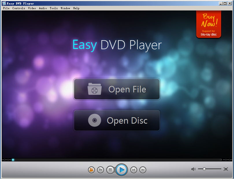 Easy DVD Player Screenshot