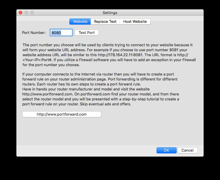 File Sharing Software, Easy File Sharing Screenshot