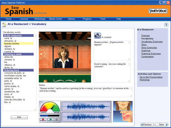 Easy Language Software Screenshot