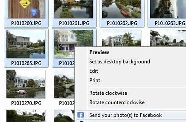 Easy Photo Uploader for Facebook Screenshot