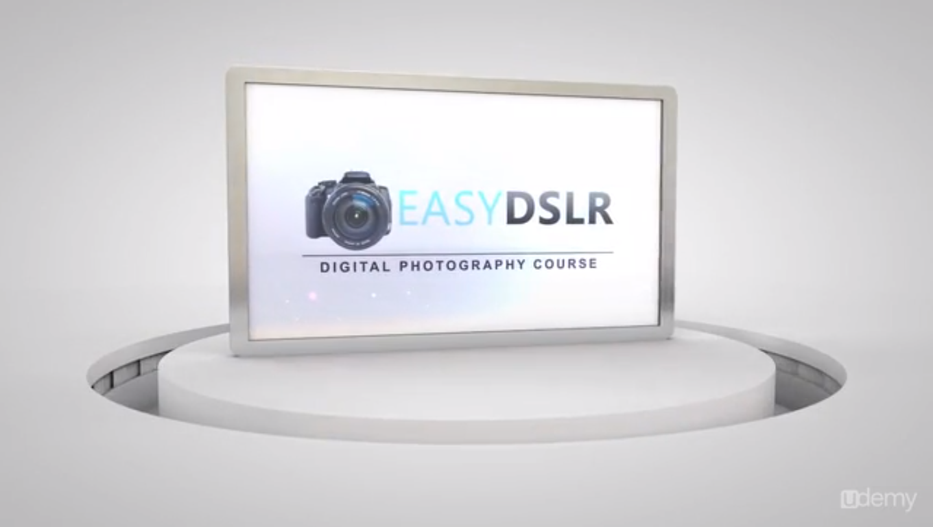 EasyDSLR Digital Photography Course for Beginners Screenshot