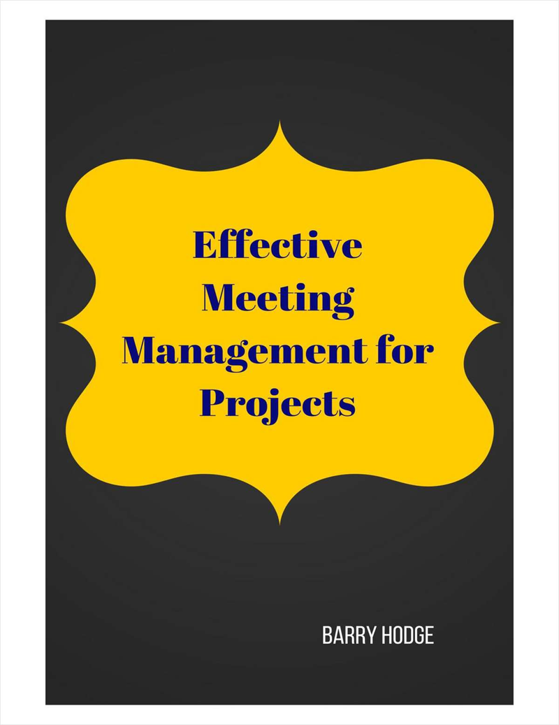 Effective Meeting Management for Projects Screenshot