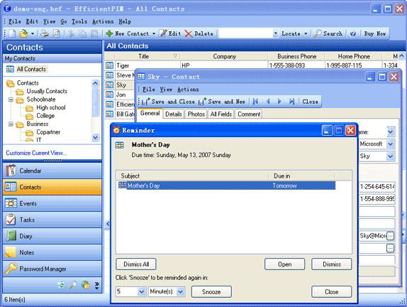 Efficientpim pim software 40 off discount download for pc efficientpim screenshot fandeluxe Choice Image