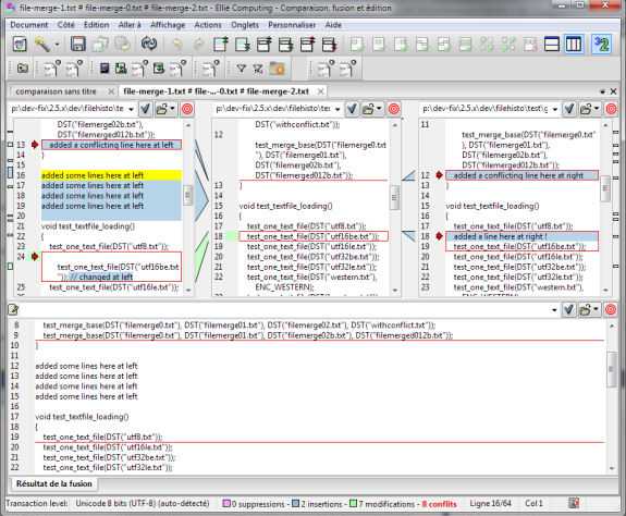 Ellié Computing Merge, Development Tools Software Screenshot