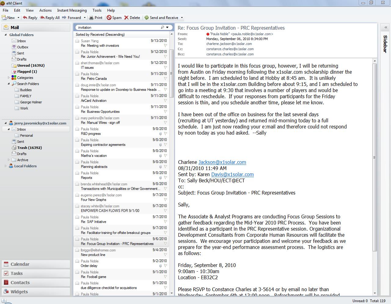 eM Client Screenshot