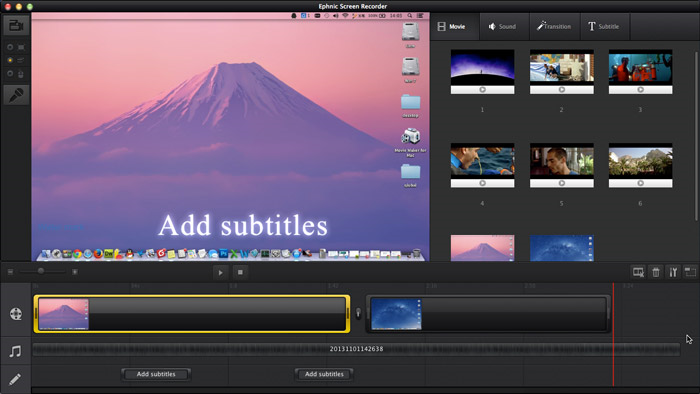 how to stop screen recording on mac
