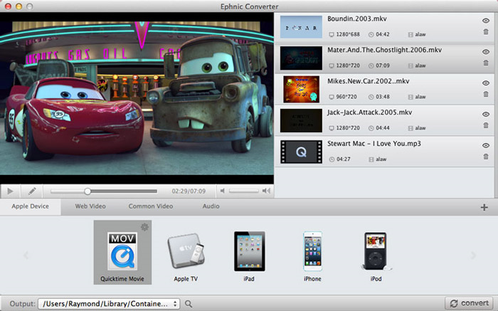Ephnic Video Converter Screenshot