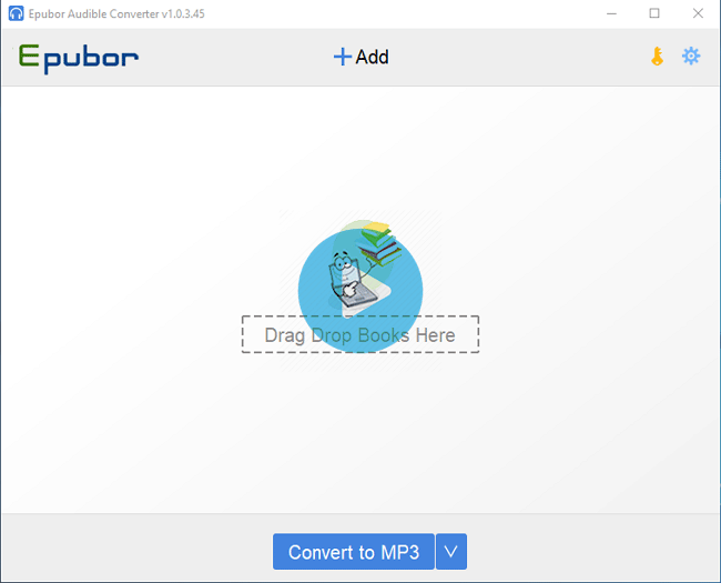Epubor Audible Converter Screenshot