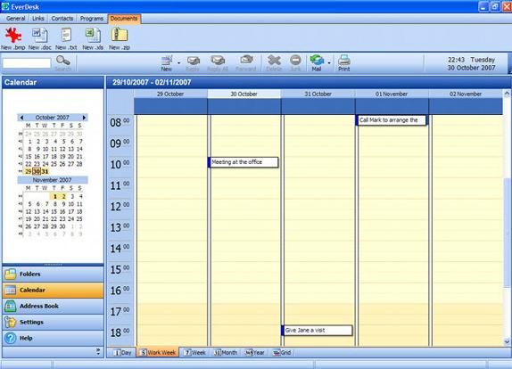 EverDesk Mail, Internet Software, Email Client Software Screenshot