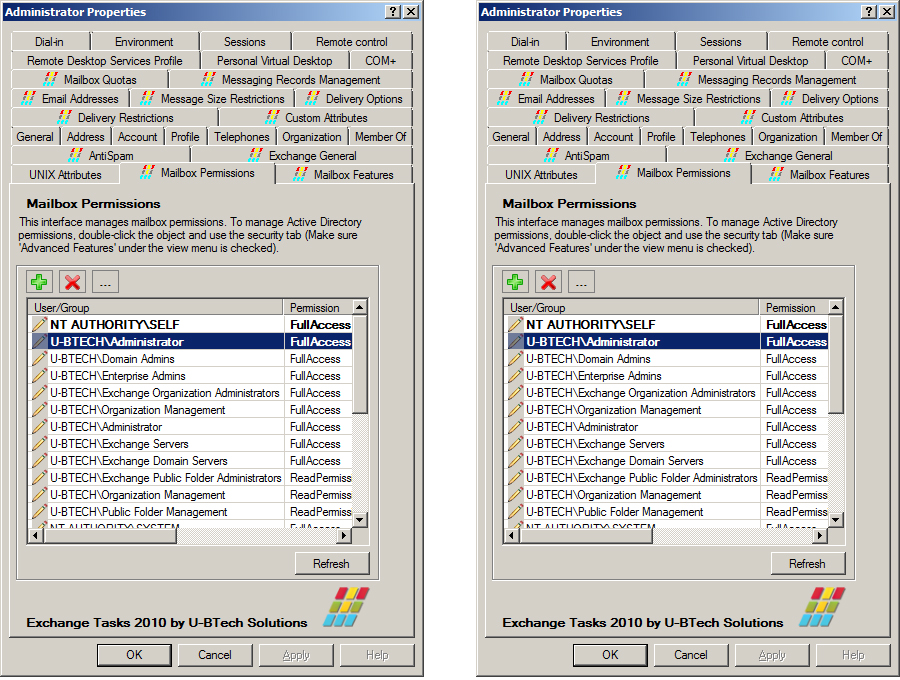 Exchange Tasks 2010 Screenshot