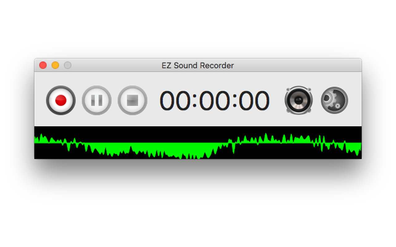 EZ Sound Recorder Screenshot