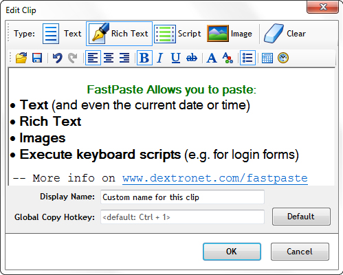 FastPaste 3 Screenshot