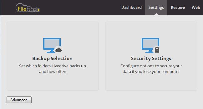 Filebasin Cloud Backup Lifetime Subscription, Backup Cloud Software Screenshot