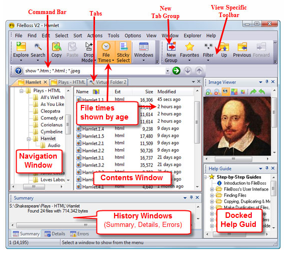 FileBoss Screenshot