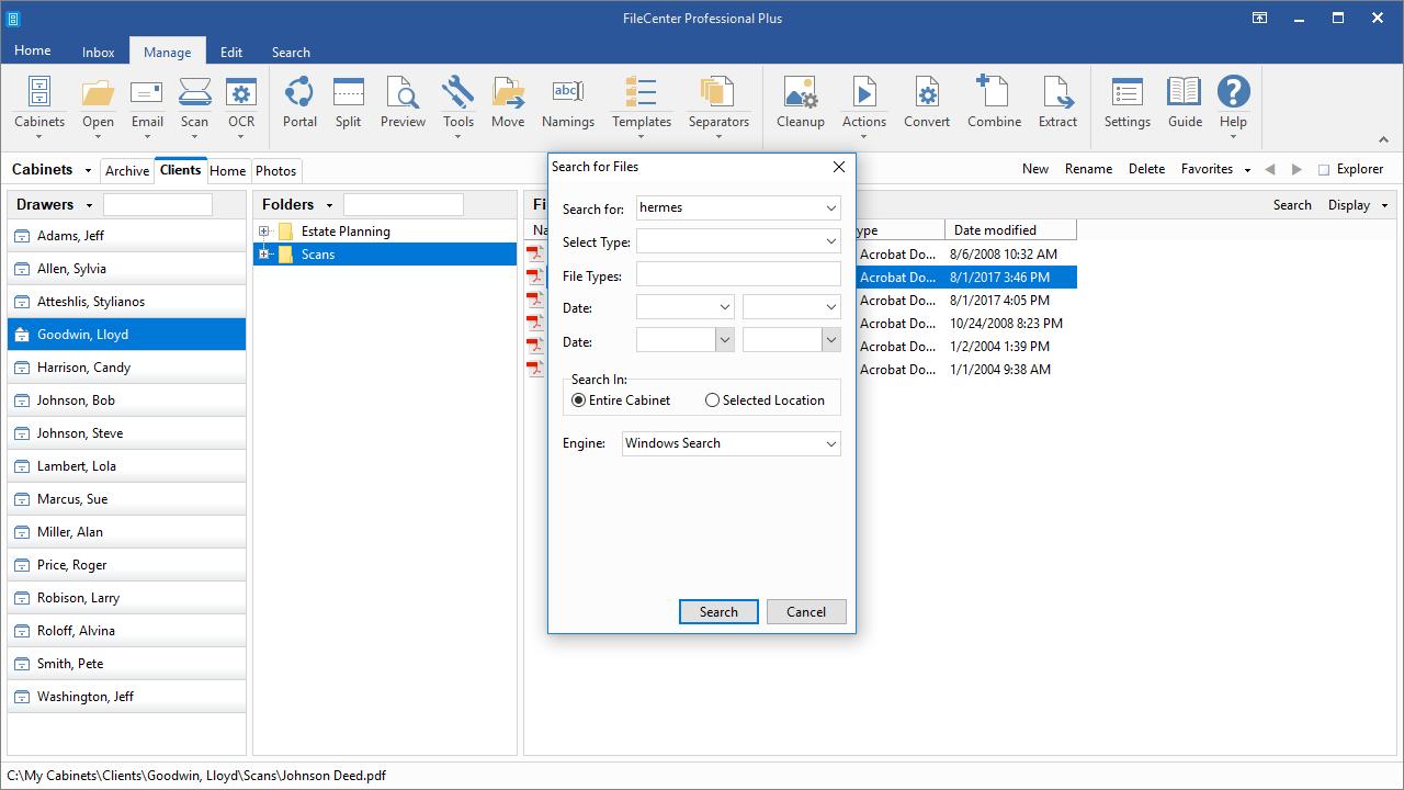 FileCenter Screenshot 8
