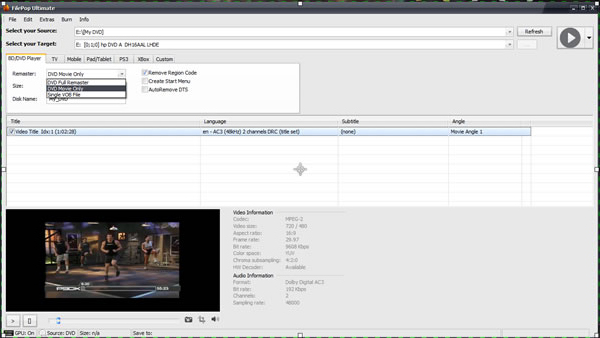FilePop Ultimate DVD/Video Suite Screenshot
