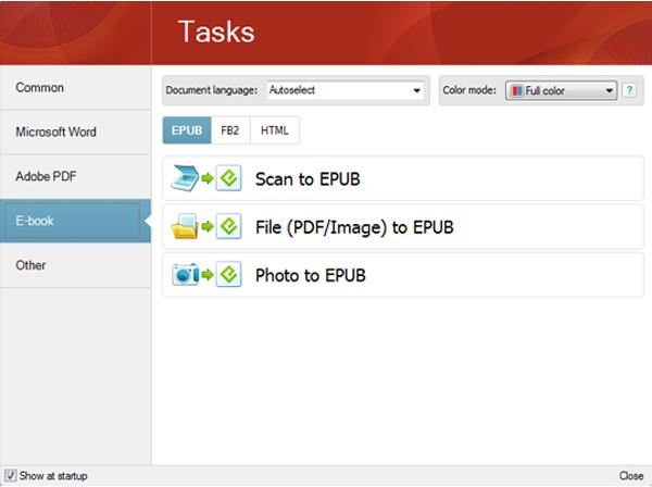 Business & Finance Software, FineReader 11 Professional Screenshot
