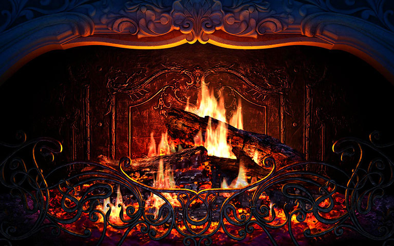 Fireplace Screensaver Screenshot Screensaver Software Screenshot Fireplace  Screensaver, Screensaver Software Screenshot