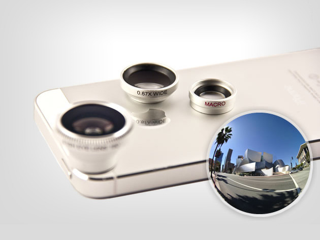Fisheye Universal Lens Kit: Get A New Perspective With Macro & Wide-Angle Lenses Screenshot