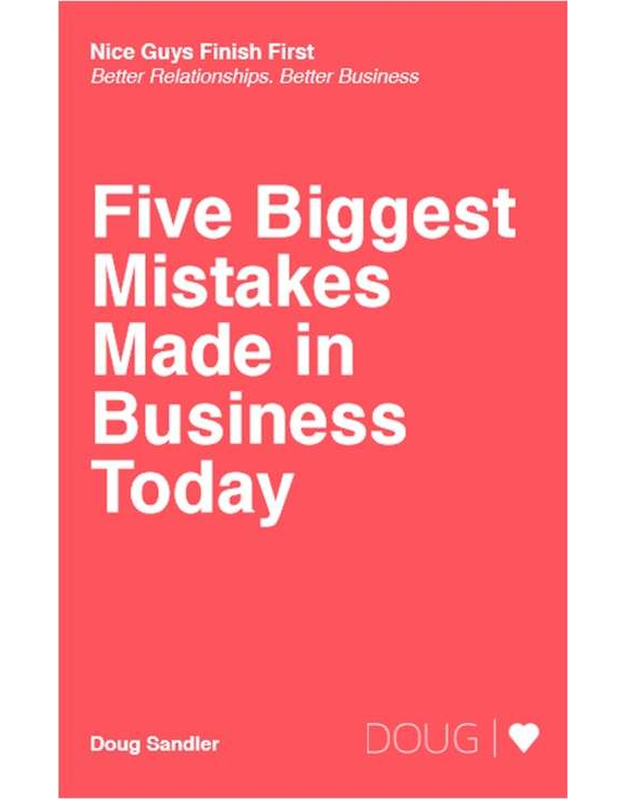 Five Biggest Mistakes Made in Business Today Screenshot
