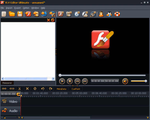 FLV Editor Ultimate Screenshot