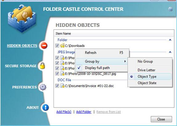 Folder Castle Screenshot