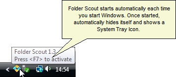 Folder Scout Standard Screenshot