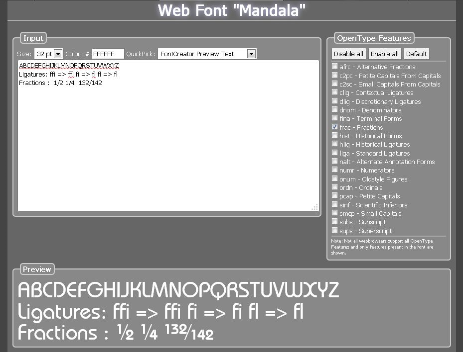 fontcreator home edition fonts and font tools software