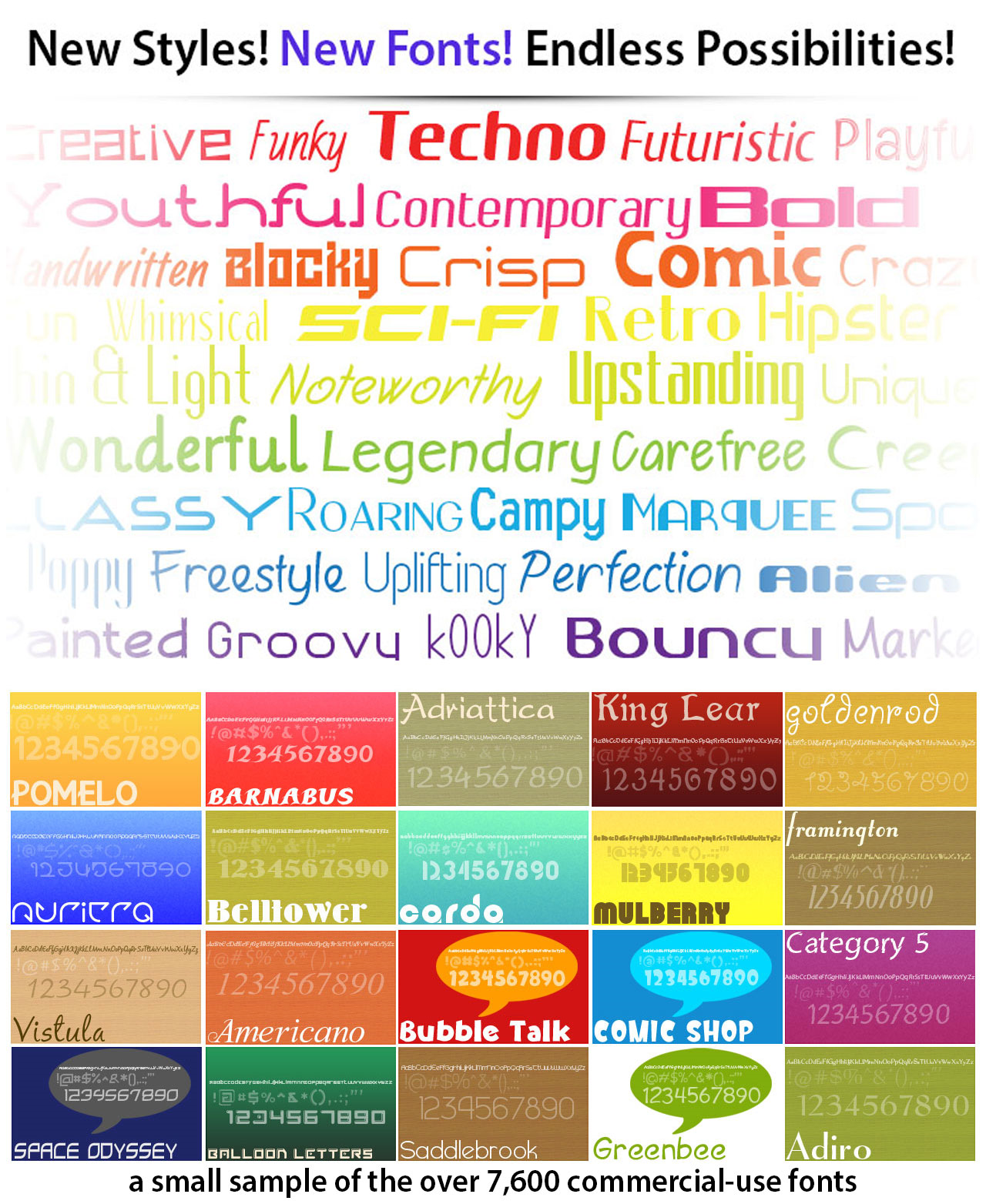 Font Pack Pro Master Collection Screenshot