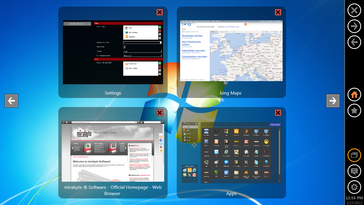 FrontFace 2, Desktop Customization Software Screenshot