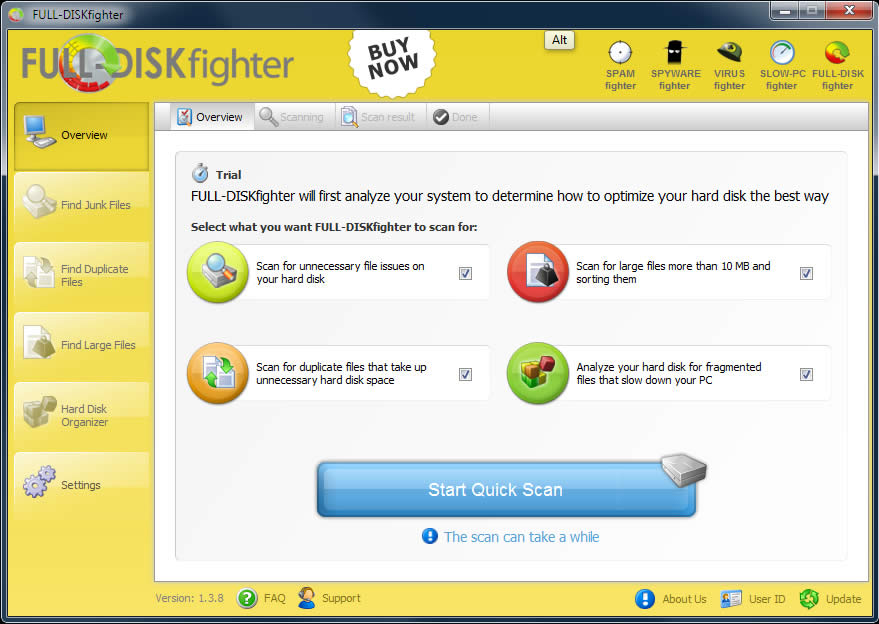 FULL-DISKfighter Screenshot