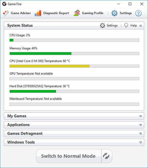 PC Optimization Software Screenshot