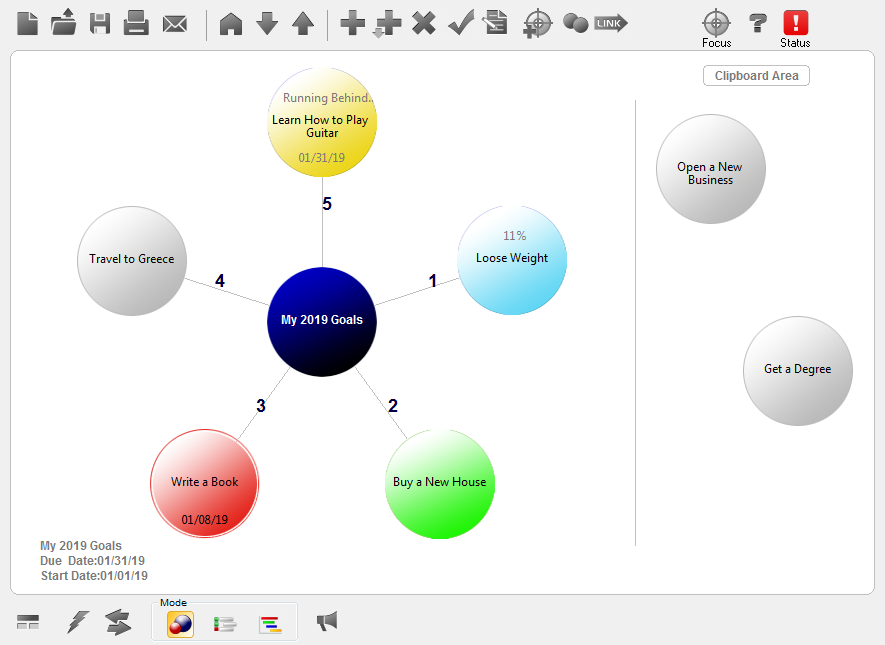 Productivity Software, GoalEnforcer Hyperfocus Screenshot