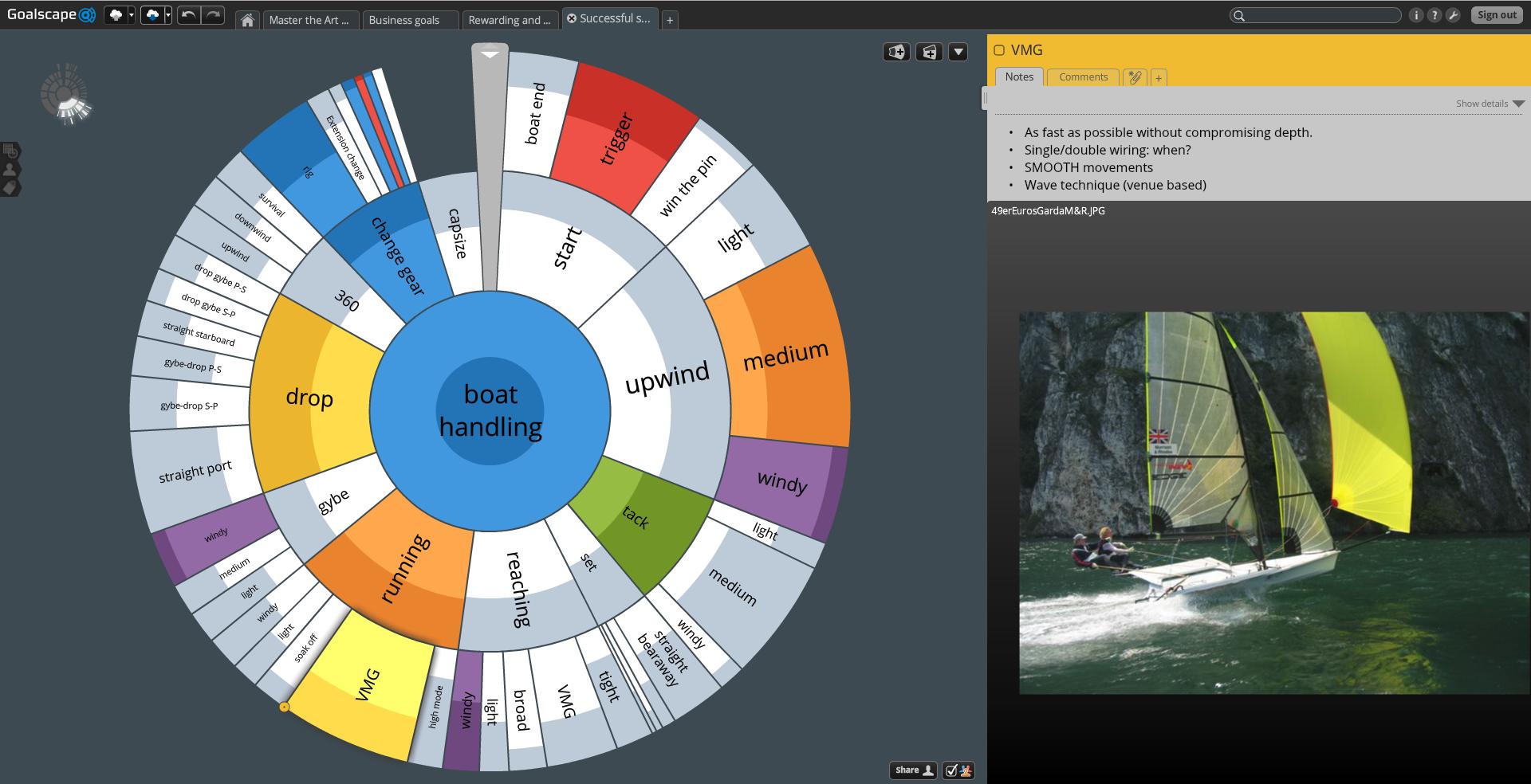 Goalscape Desktop and Goalscape Online Unlimited, Project Management Software Screenshot