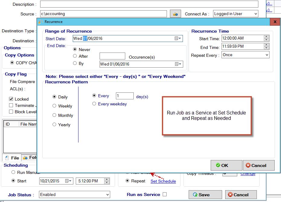 GS RichCopy 360 Standard Screenshot 8