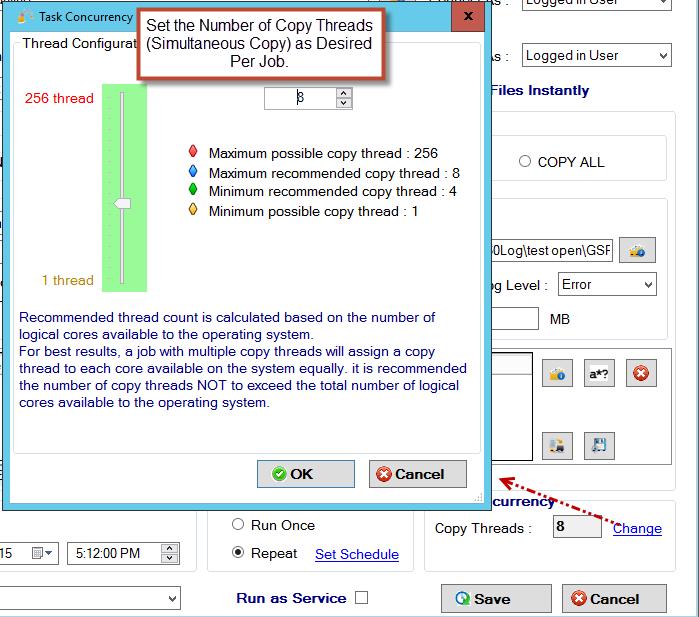 GS RichCopy 360 Standard Screenshot 9