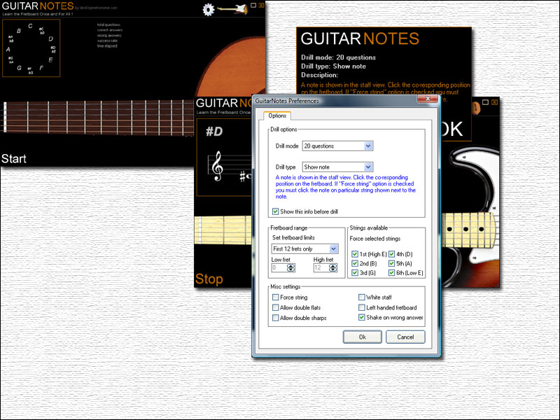 Guitar Notes Screenshot