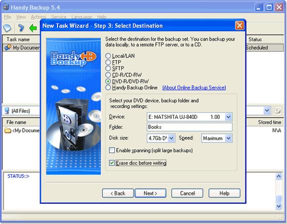 Handy Backup Home Standard - Backup Files Software - 20% ...