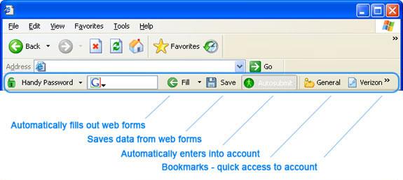Handy Password Screenshot