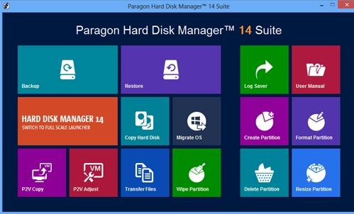 Hard Disk Manager Suite Screenshot
