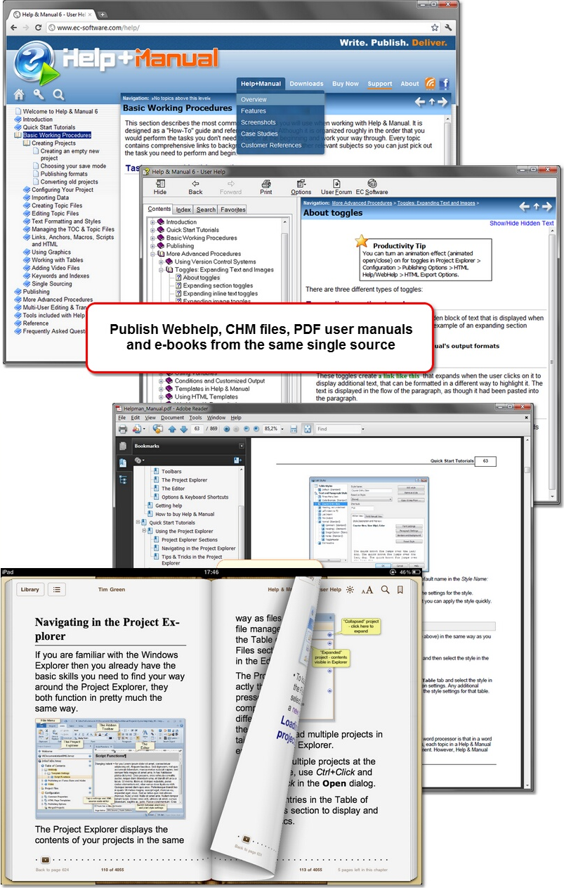 help authoring software reviews