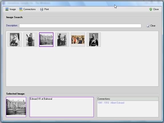 Hereditree, Productivity Software Screenshot