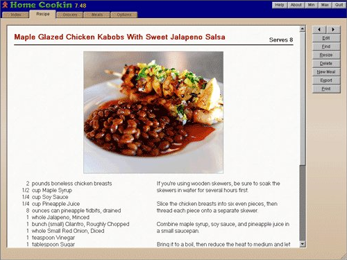 Home cookin recipe software food cooking software 30 pc home cookin recipe software screenshot food cooking software screenshot forumfinder Gallery