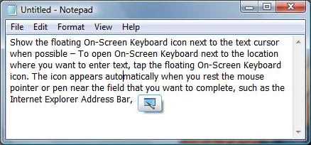 Productivity Software, Hot Virtual Keyboard 4.0 Screenshot