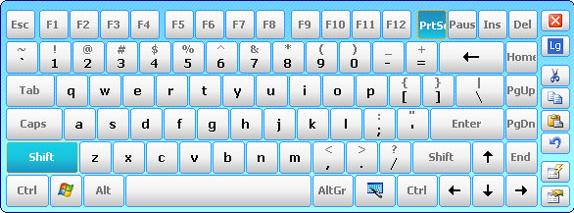 Hot Virtual Keyboard 4.0 Screenshot 11