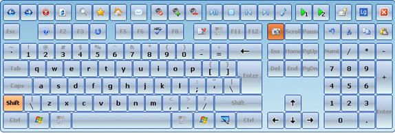 Hot Virtual Keyboard 4.0 Screenshot 10